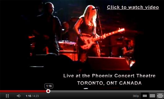 Famous Underground Live in Toronto Ontario at the Phoenix