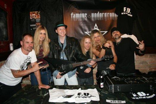Famous Underground Guitar Winner